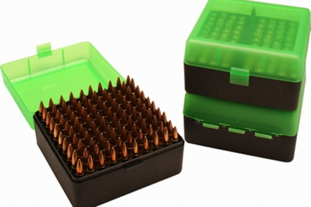 Ammo boxes and reloading trays